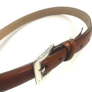 Brighton Brown Leather Belt